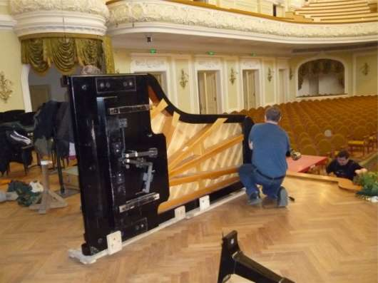 Перевозка пианино, роялей в Москве Фото 1