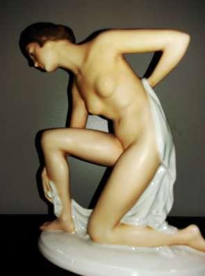 Антикварная фарфоровая фигура Розенталь