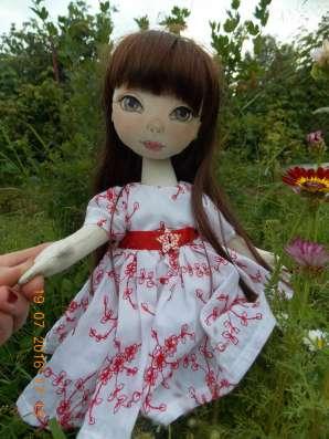 Интерьерная кукла Людмилка