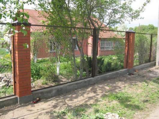 Секции заборные в Воронеже Фото 1