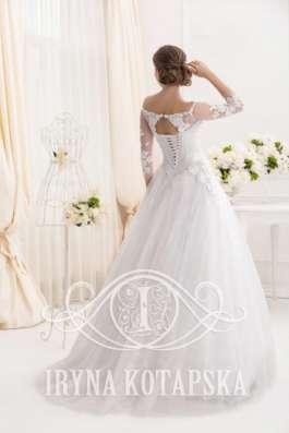 Дизайнерское свадебное платье Ирины Котапской в Москве Фото 1