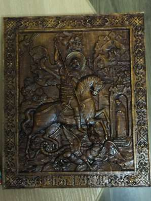 Иконы из дерева в Хабаровске Фото 1
