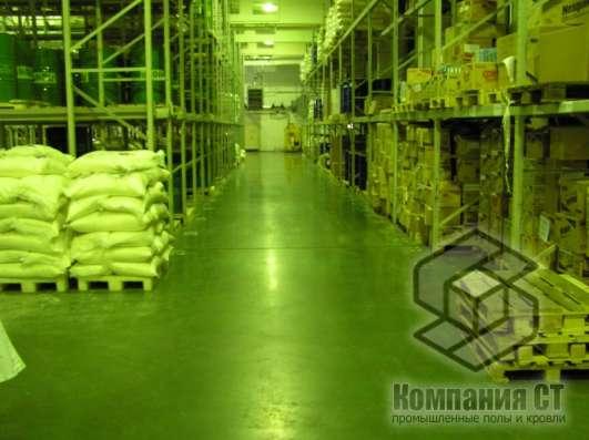 Заливка бетонного пола с упрочнением для предприятий в Перми Фото 1