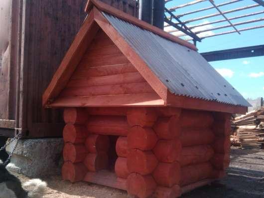 Дома, бани, беседки, мебель из оцилиндрованного бревна в Тюмени Фото 3