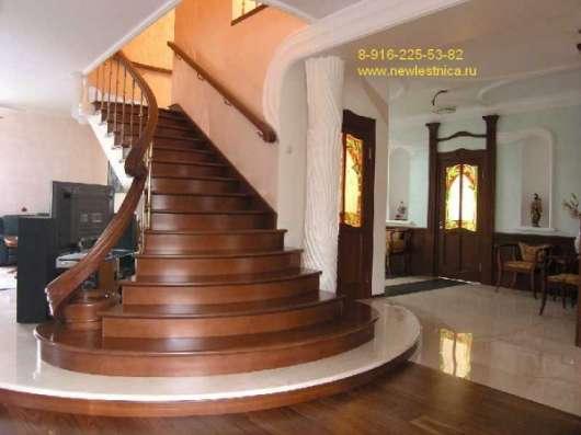 Деревянные лестницы для дома, квартиры и дачи в г. Королёв Фото 1