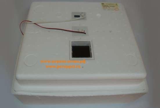 Домашний инкубатор с возможностью подключения к аккумулятору.