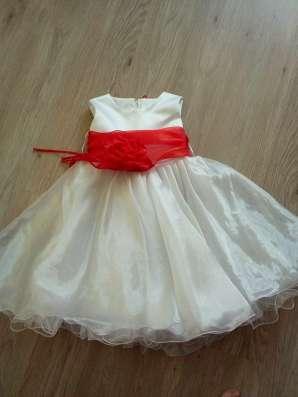 3 платья на девочку 3-5 лет