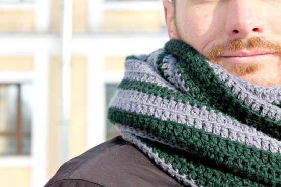 Мужской длинный шарф в стиле casual (кэжуал) в Санкт-Петербурге Фото 1