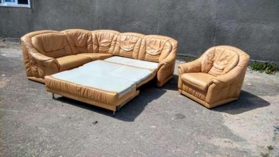 Кожаная мягкая мебель из Европы, с бесплатной доставкой по Украине.