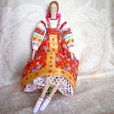 """Кукла Тильда """"Русская красавица"""""""