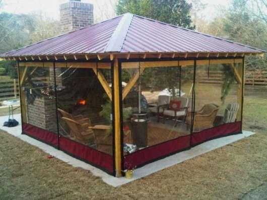 Уличные шторы для террас и веранд дома и дачи в Подольске Фото 2