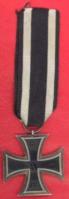Германия Железный крест 2 класс Вильгельм ПМВ 1914 в Орле Фото 1