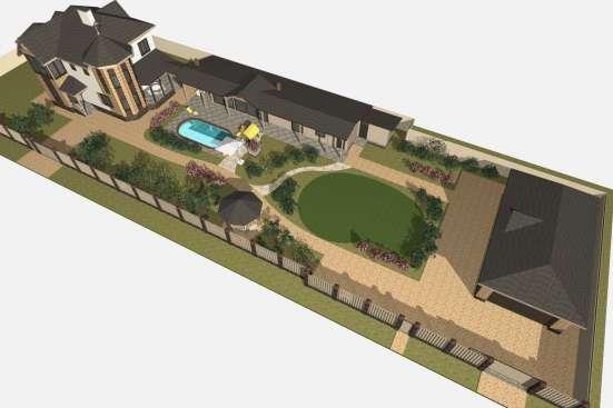 Дизайн фасада дома, входной группы