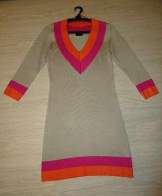 Платье теплое, размер 44