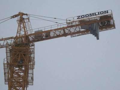 кран башенный Zoomlion TC6016A-8 в Кирове Фото 5