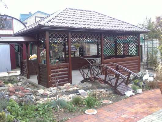 Беседки, столы лавочки для сада в Краснодаре Фото 4
