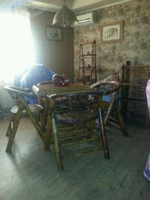 Бамбуковая мебель