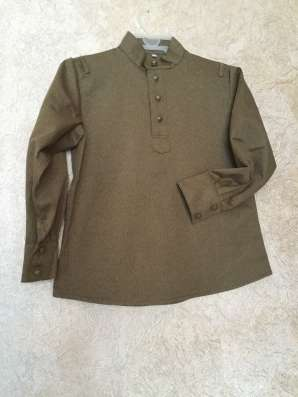 Детская гимнастерка- рубаха к 9 Мая военная форма