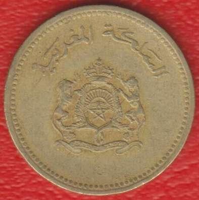 Марокко 10 сантимов 1987 г.