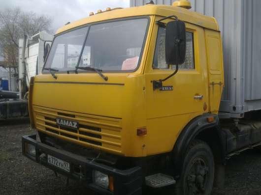 КАМАЗ кабина жолтого цвета кузов контейнер в Москве Фото 2