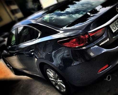 Задний бампер Mazda 6 III поколения