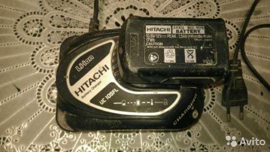 Зарядное устройство и аккумулятор для Hitachi DS10 в Курске Фото 3