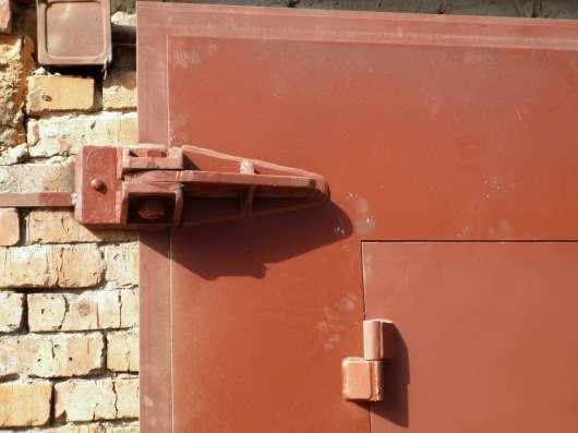 Ворота гаражные металлические в Бердске Фото 1