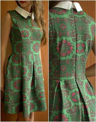 Фактурное платье mela loves london