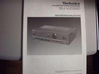 """Инструкция усилителя    """"Technics"""