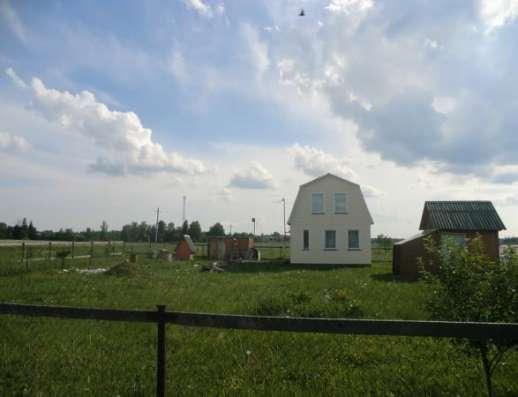 Продается дом 73 кв.м с участком в деревне Бухарево, Можайский район, 142 км от МКАД по Минскому шоссе.