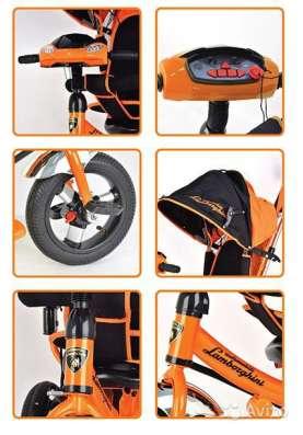Детский Трехколесный велосипед Lamborghini колеса на пене