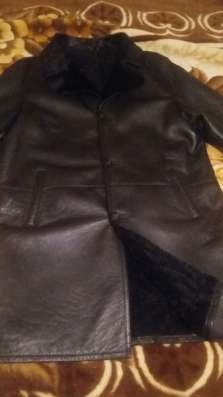 Срочно продам черную натуральную дубленку, размер 50-52