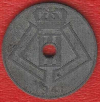 Бельгия 10 сантимов 1941 г немецкая оккупация в Орле Фото 1