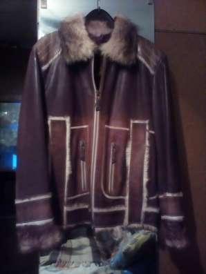Куртка кожаная мужская в Екатеринбурге Фото 2