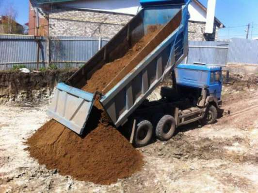 Доставка песка, щебня, керамзита по Подольскому району