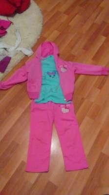 Спортивный костюм хеллоу кити, розовый для девочки