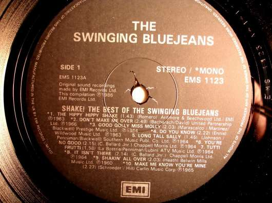 Пластинка The Swinging Blue Jeans - The Best Of(UK) в Санкт-Петербурге Фото 2
