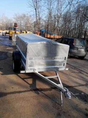 Оцинкованный прицеп КрКз150 2200х1300 в Москве Фото 4