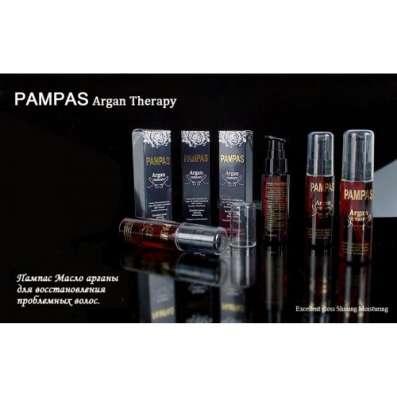 Восстановление проблемных волос маслом Арганы Пампас