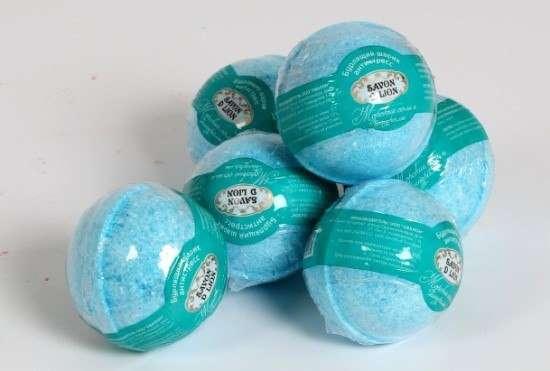 Бурлящие шарики для ванны. ОПТ. Savon D Lion 100гр в Санкт-Петербурге Фото 1