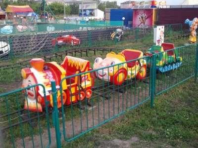 Аттракцион Детская железная дорога б/у