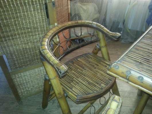 Бамбуковая мебель в Краснодаре Фото 2