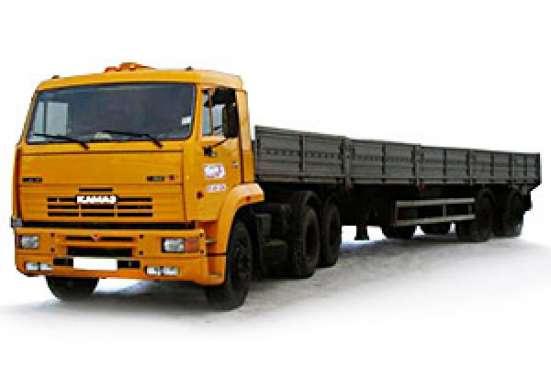 Аренда бортового полуприцепа 20 тонн длинномер