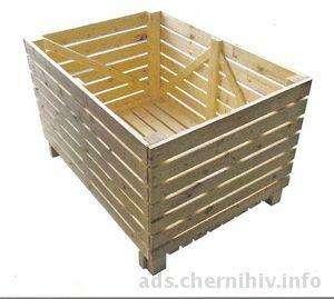 Тара деревянная, поддоны, кабельные и канатные барабаны, ящики и т.д.