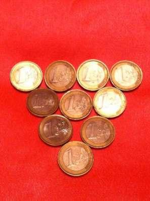 Финляндия 1 евро - 8 монет