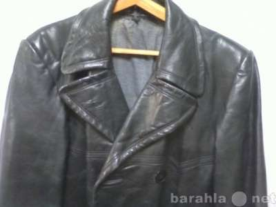 Пальто, кожанное, Военное пальто