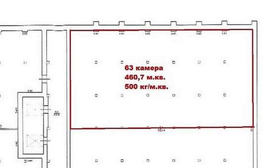 Производственное помещение 460.7 м2 в аренду у метро Нарвс в Санкт-Петербурге Фото 2