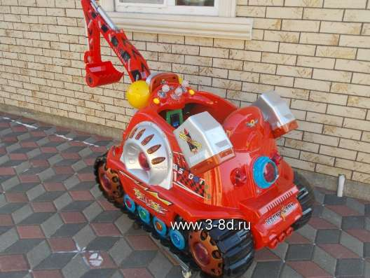 Аттракцион, детский экскаватор в Москве Фото 1