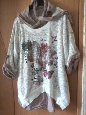 Блуза многослойная