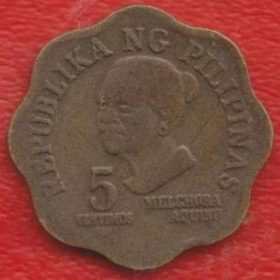 Филиппины 5 сентимо 1979 г.